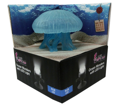 hydor Ocean Wonders Qualle + LED blau, Aquariumdeko