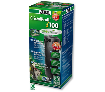 Jbl aquarium innenfilter cristalprofi i100 greenline for Jbl aquarium