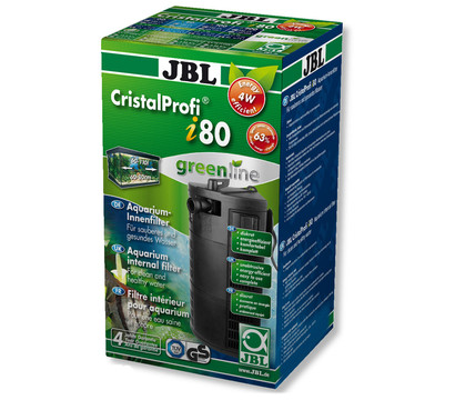 Jbl aquarium innenfilter cristalprofi i80 greenline for Jbl aquarium