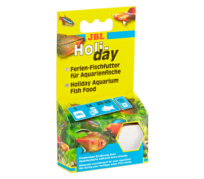 JBL Fischfutter Holiday für Aquarienfische