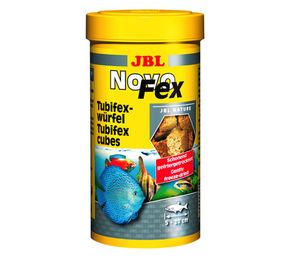 JBL Fischfutter NovoFex Tubifexwürfel, 100ml