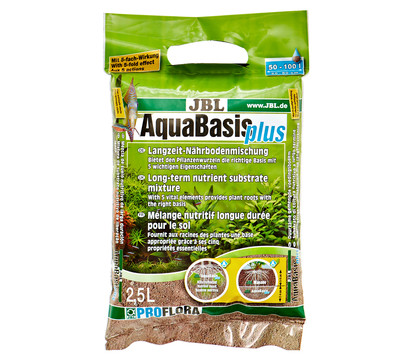 JBL Langzeit-Nährbodenmischung AquaBasis plus
