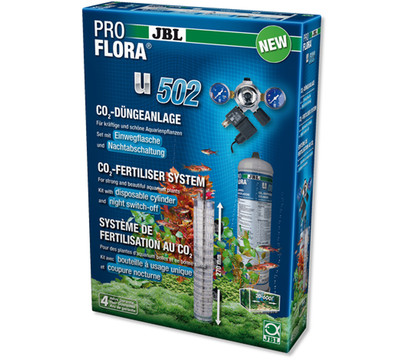 JBL ProFlora u502 CO2-Set Einweg