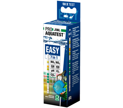 JBL Wassertest ProAquaTest Easy 7in1, 50 Stück