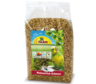 JR Farm Birds Classic Vogelfutter für Wellensittiche, 1 kg