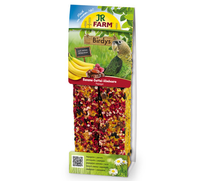 JR Farm Birdys Premium Banane-Dattel-Himbeer für Papageien