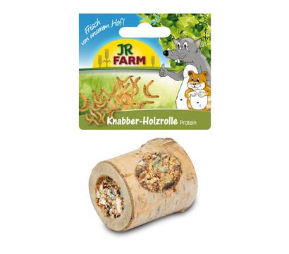 JR FARM Ergänzungsfutter Knabber-Holzrolle Protein, 150g