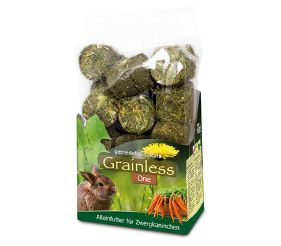 JR FARM Kleintierfutter Grainless One Zwergkaninchen, 950g