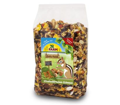 JR FARM Nagerfutter Daily Food Streifenhörnchen-Schmaus, 600g