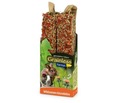 JR FARM Nagersnack Grainless Farmys Wildsamen-Distelblüten