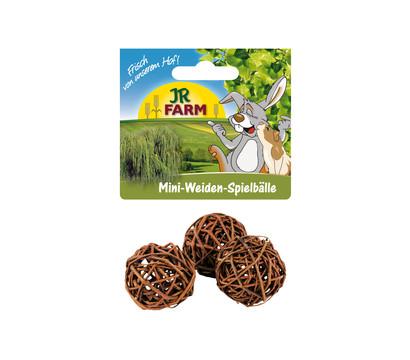 JR FARM Nagerspielzeug Mini Weiden-Spielbälle