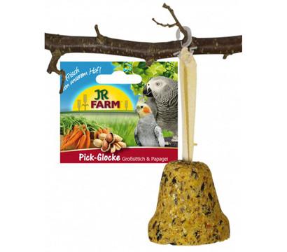 JR Farm Pick-Glocke für Großsittiche und Papageien, 160 g