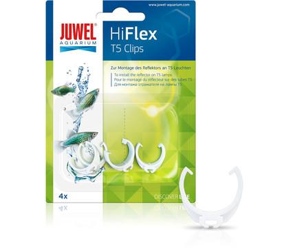 JUWEL® AQUARIUM Aquariumbeleuchtung HiFlex T5 Clips für Juwel Reflektoren, 4 Stück