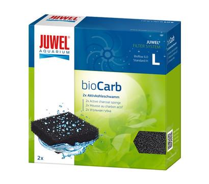 JUWEL® AQUARIUM Aquariumzubehör Kohleschwamm bioCarb L, 2 Stk.