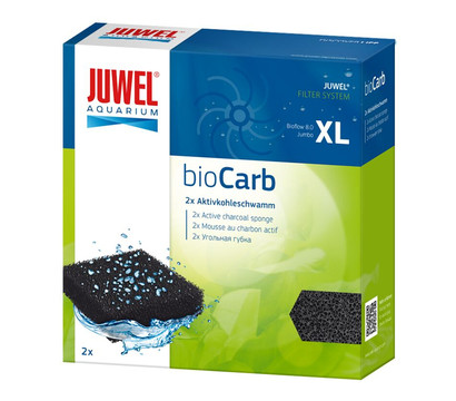 JUWEL® AQUARIUM Aquariumzubehör Kohleschwamm bioCarb XL, 2 Stk.