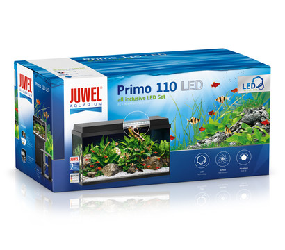 Juwel Primo 110 LED Aquarium Set, schwarz