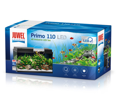 juwel primo 110 led aquarium set schwarz dehner garten center. Black Bedroom Furniture Sets. Home Design Ideas