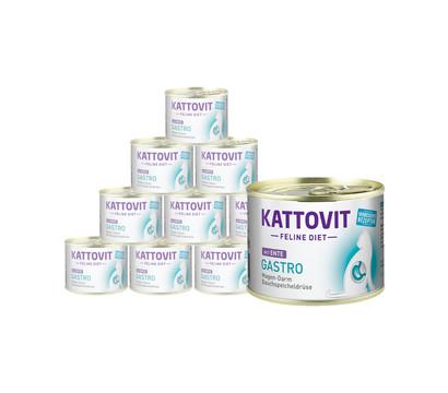 KATTOVIT Feline Diet Nassfutter Gastro, 12 x 185g