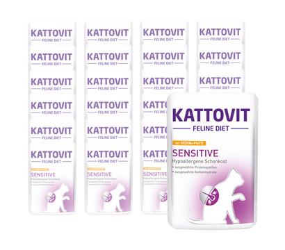 Kattovit Sensitive Nassfutter, 24 x 85 g