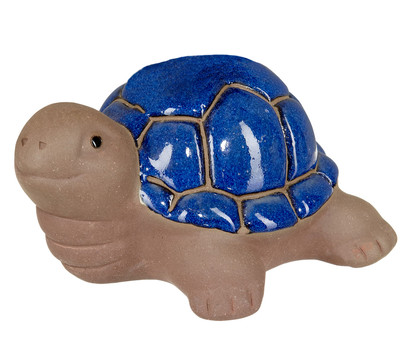 Keramik Schildkröte, glasiert
