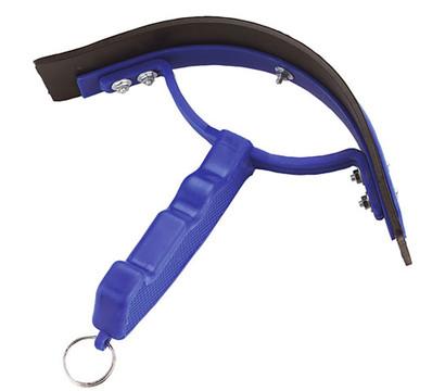 Kerbl Schweißmesser für Pferde, halbrund