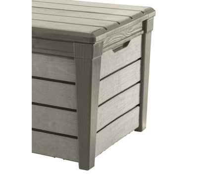 keter aufbewahrungsbox brushwood 455 liter dehner garten center. Black Bedroom Furniture Sets. Home Design Ideas