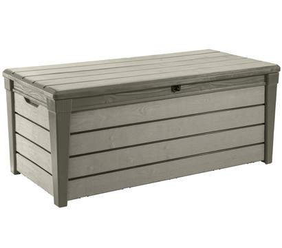 keter aufbewahrungsbox brushwood 455 liter dehner. Black Bedroom Furniture Sets. Home Design Ideas