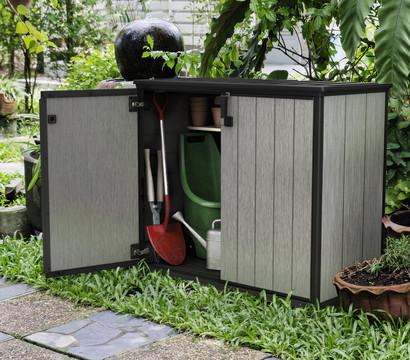 keter aufbewahrungsbox patio store 1000 liter dehner. Black Bedroom Furniture Sets. Home Design Ideas