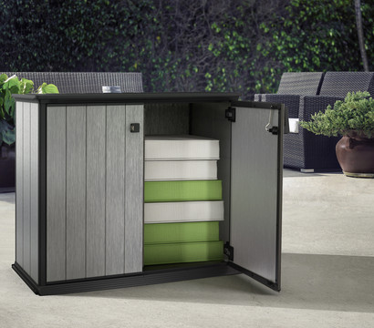 keter aufbewahrungsbox patio store 1000 liter dehner garten center. Black Bedroom Furniture Sets. Home Design Ideas