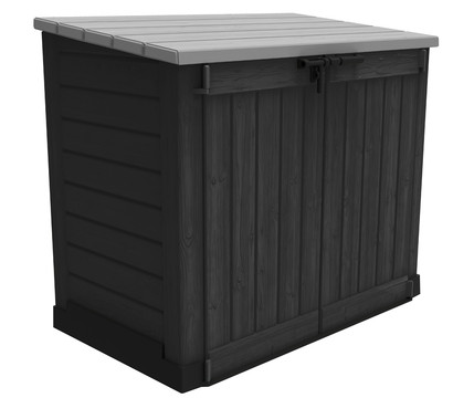 keter aufbewahrungsbox store it out max dehner garten center. Black Bedroom Furniture Sets. Home Design Ideas