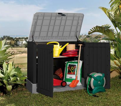 keter aufbewahrungsbox store it out midi 845 liter. Black Bedroom Furniture Sets. Home Design Ideas