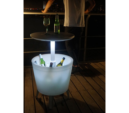 Keter Stehtsich Illuminated Cool Bar