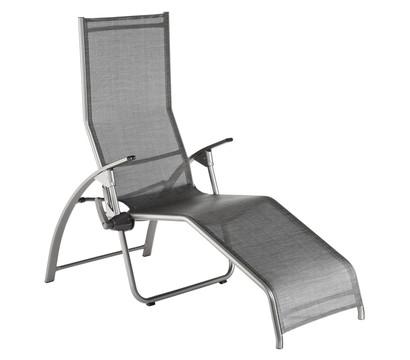 kettler alu b derliege silber anthrazit 42 x 67 x 176 cm. Black Bedroom Furniture Sets. Home Design Ideas