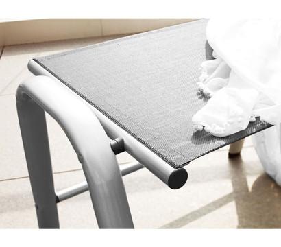 kettler hks hocker cirrus grau 43 x 51 x 61 cm dehner. Black Bedroom Furniture Sets. Home Design Ideas
