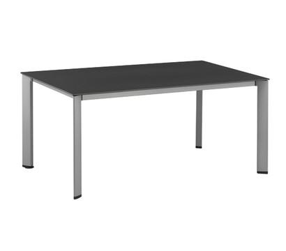 Kettler Lofttisch Silber, 160 x 95 cm