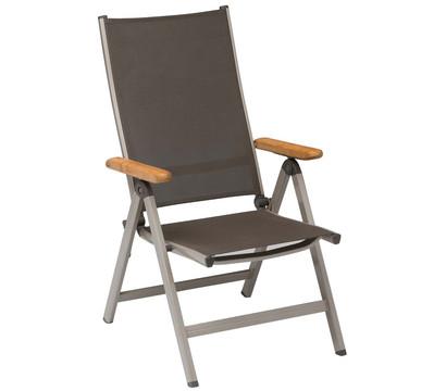 kettler multipositionssessel granada champagner mocca. Black Bedroom Furniture Sets. Home Design Ideas