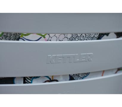 kettler multipositionssessel rimini wei dehner garten center. Black Bedroom Furniture Sets. Home Design Ideas