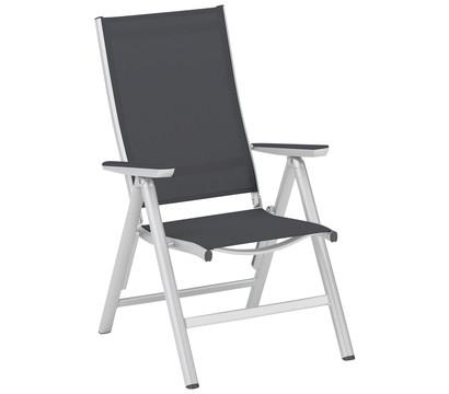 kettler multipositionssessel scirocco silber anthrazit. Black Bedroom Furniture Sets. Home Design Ideas
