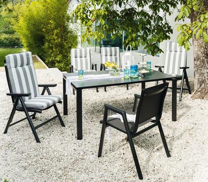 kettler stapelsessel scirocco anthrazit dehner garten center. Black Bedroom Furniture Sets. Home Design Ideas