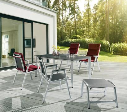 kettler stapelsessel scirocco silber anthrazit dehner garten center. Black Bedroom Furniture Sets. Home Design Ideas