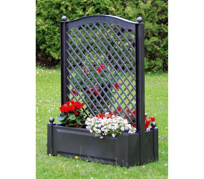 khw kunststoff pflanzkasten mit spalier 100 x 43 x 140 cm dehner garten center. Black Bedroom Furniture Sets. Home Design Ideas