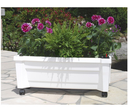 KHW Kunststoff-Pflanzkasten Calypso inkl. Bewässerungssystem