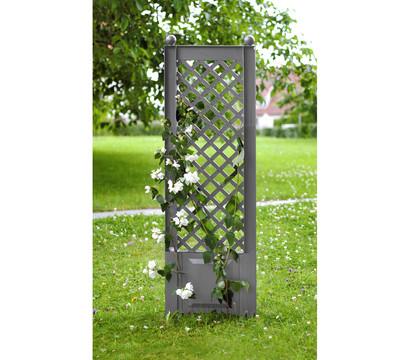 KHW Kunststoff-Spalier mit Erdspießen, 43 x 6 x 140 cm