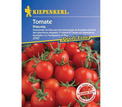 kiepenkerl saatgut tomate 39 philovita 39 dehner garten center. Black Bedroom Furniture Sets. Home Design Ideas