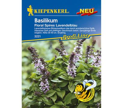Kiepenkerl Samen Basilikum 'Floral Spires Lavendelblau'