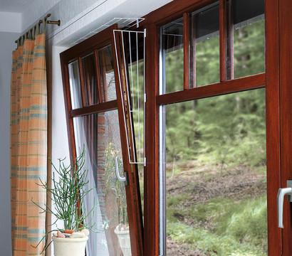 Kippfenster Schutzgitter für Katzen, eckig, 16 x 65 cm