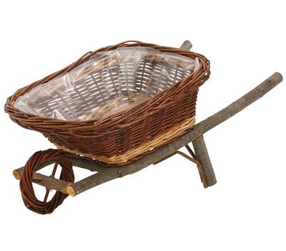 Korb-Pflanzschubkarre, 54 x 30 x 23 cm