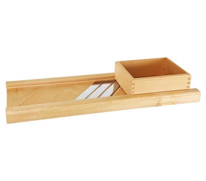 Krauthobel aus Holz, 80 x 29 cm