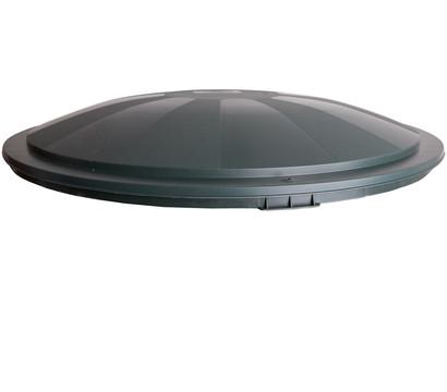 Kunstsoff-Deckel für Regentonne 210/310 l, rund, dunkelgrün