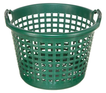 Kunststoff Gartenkorb grün, 45 x 31 cm